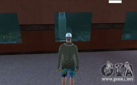 HD piel vago para GTA San Andreas tercera pantalla