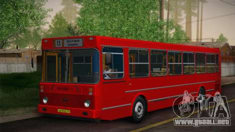 LIAZ 5256.00 piel Pack 6 para GTA San Andreas left