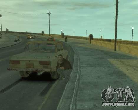 AZLK 2140 s. l. a. t. k. e. R para GTA 4 visión correcta