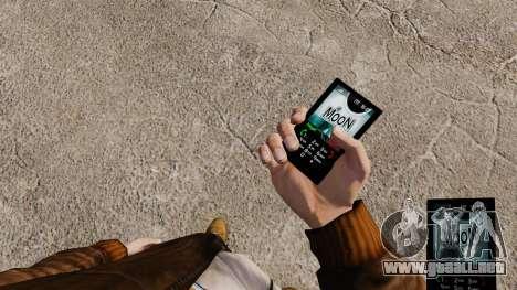 Tema luna para tu teléfono para GTA 4