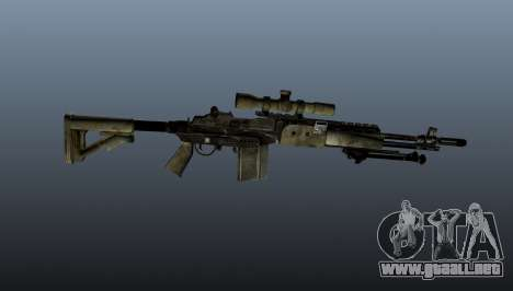 Rifle de francotirador M21 Mk14 v7 para GTA 4 tercera pantalla