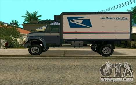 Yankee GTA 4 para GTA San Andreas left
