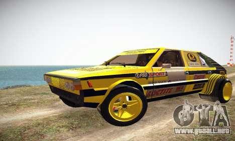 FSO Polonez 2500 Racing 1978 para GTA San Andreas left