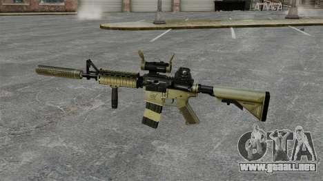 Carabina M4 con silenciador v1 para GTA 4 tercera pantalla