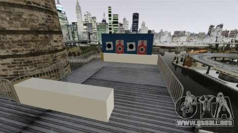 Base de datos de supervivencia para GTA 4 adelante de pantalla