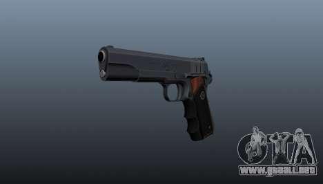 Pistola semiautomática Hitman Silverballer para GTA 4