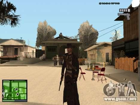 Ray Mccall Call Of Juarez para GTA San Andreas segunda pantalla