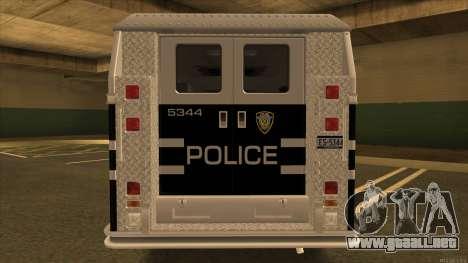Enforcer HD from GTA 3 para la visión correcta GTA San Andreas