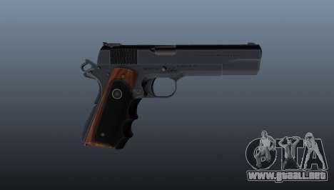 Pistola semiautomática Hitman Silverballer para GTA 4 tercera pantalla