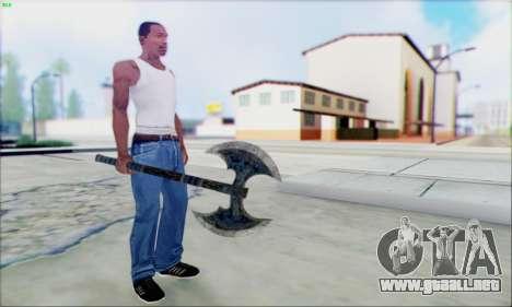 Fragua de hacha para GTA San Andreas
