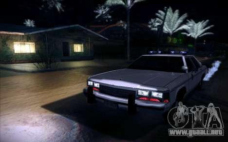 Police North Yankton para GTA San Andreas vista posterior izquierda