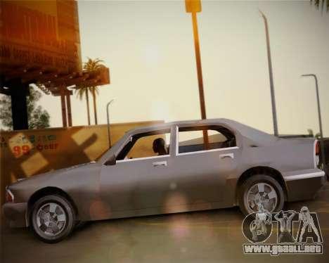 GTA III Kuruma para la visión correcta GTA San Andreas