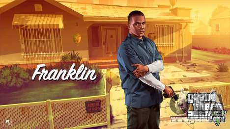 Franklin Clinton from GTA V para GTA 4 tercera pantalla