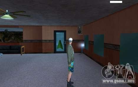HD piel vago para GTA San Andreas sucesivamente de pantalla