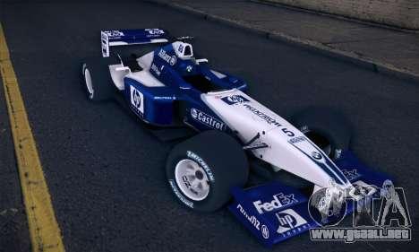 BMW Williams F1 para GTA San Andreas