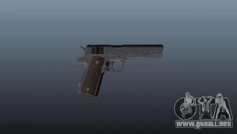 Pistola M1911 para GTA 4 tercera pantalla