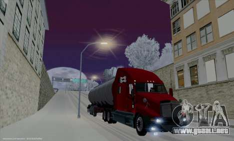 Kenworth T2000 v2.9 para vista lateral GTA San Andreas