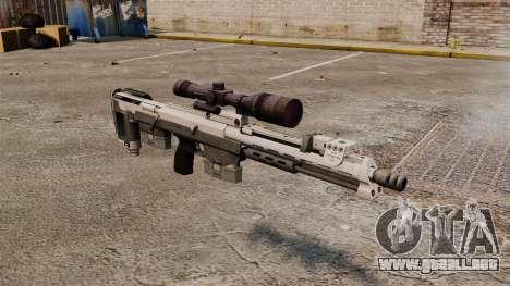 Rifle de francotirador DSR para GTA 4