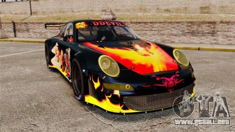 Porsche GT3 RSR 2008 Ddevil para GTA 4