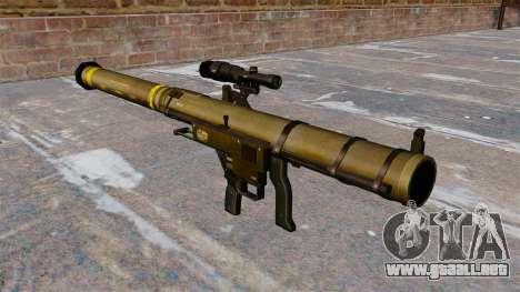 Lanzagranadas Mk153 SMAW hombro Mod 0 para GTA 4