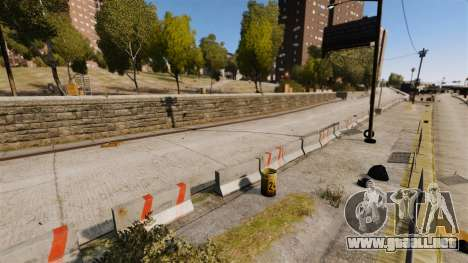 Liberty City Race Track para GTA 4 quinta pantalla