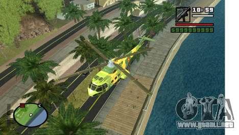 Callejón en LA para GTA San Andreas tercera pantalla