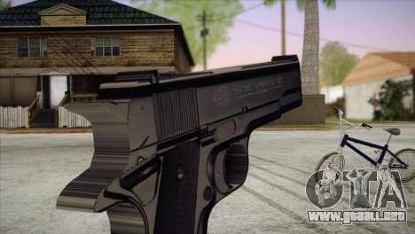 Colt Government 1911 para GTA San Andreas tercera pantalla