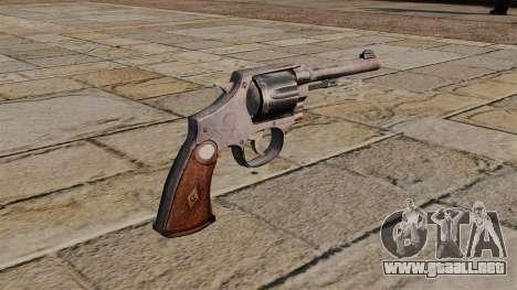Revólver M1917 para GTA 4 segundos de pantalla