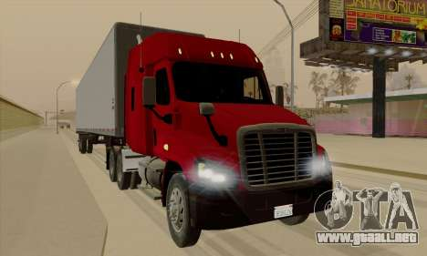 Freghtliner Cascadia para GTA San Andreas left