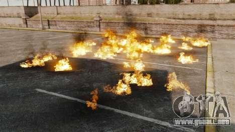 Nuevos efectos de la explosión y el fuego para GTA 4 segundos de pantalla