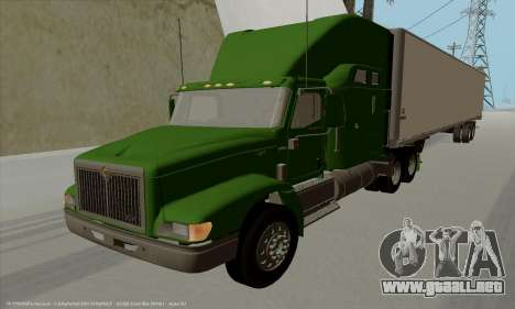 International 9400i Skyrise para GTA San Andreas left