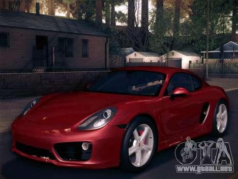 Porsche Cayman S 2014 para el motor de GTA San Andreas