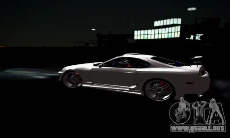 Toyota Supra para GTA San Andreas interior