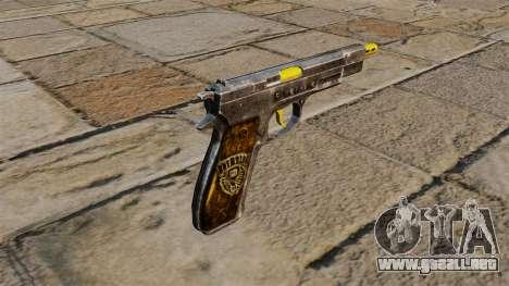 Pistola Cz75 para GTA 4 segundos de pantalla