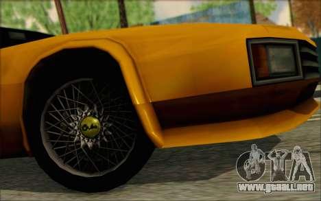 VC Cheetah para la visión correcta GTA San Andreas