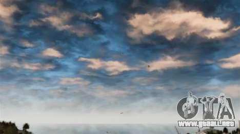 Fijar el cielo rojo para GTA 4