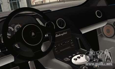 2005 Lamborghini Murciélago para vista lateral GTA San Andreas