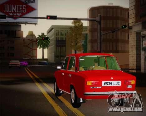 VAZ 21011 exportación para la vista superior GTA San Andreas