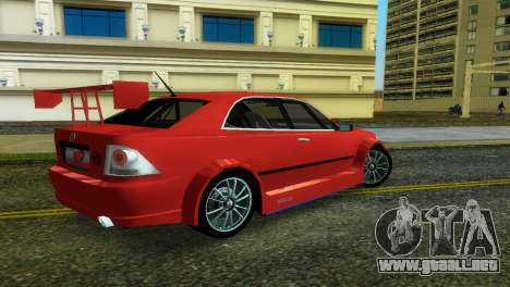 Lexus IS200 para GTA Vice City left