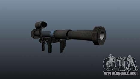 Lanzador de granadas antitanque todos lamiendo s para GTA 4 segundos de pantalla