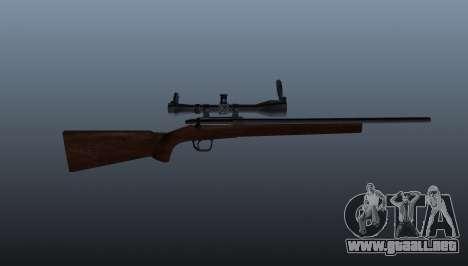 Rifle de francotirador deportes Winchester Model para GTA 4 tercera pantalla