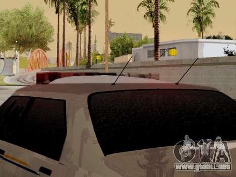 Norte Yanton policía Esperanto de GTA 5 para visión interna GTA San Andreas