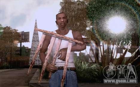 Taburete para GTA San Andreas