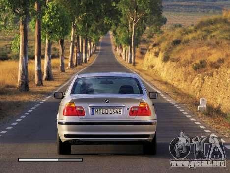 Nuevas pantallas de carga BMW para GTA San Andreas sucesivamente de pantalla