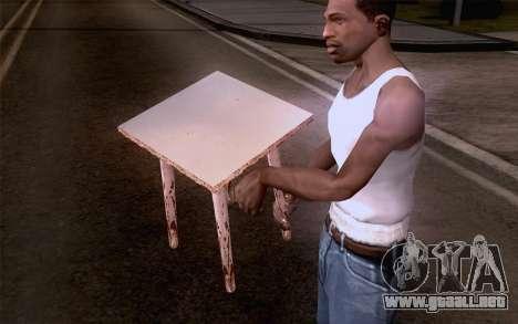 Taburete para GTA San Andreas tercera pantalla