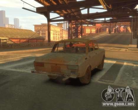 AZLK 2140 s. l. a. t. k. e. R para GTA 4 vista interior