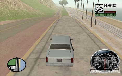Velocimetro DC Shoes para GTA San Andreas