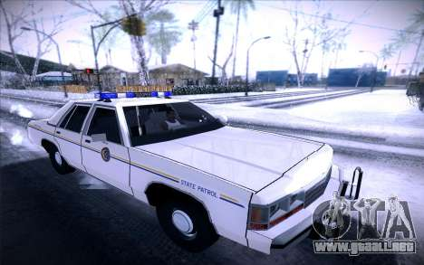 Police North Yankton para GTA San Andreas left