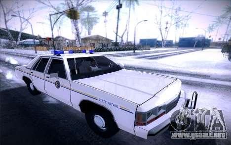 Police North Yankton para GTA San Andreas left