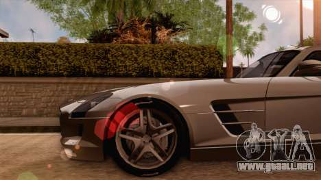 Mercedes-Benz SLS AMG 2010 para la visión correcta GTA San Andreas